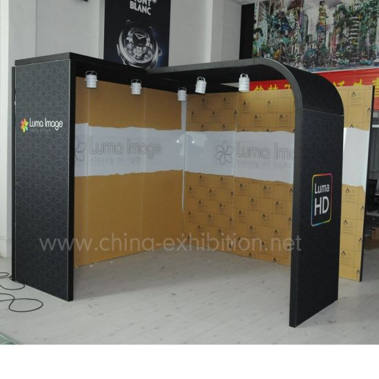 20X20 Lighting for Companies Custom Portable Trade Show Booth