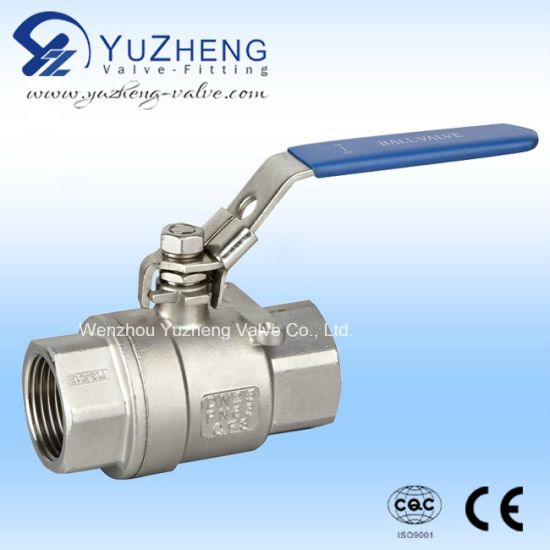 Stainless Steel 2PC Thread Ball Valve pictures & photos