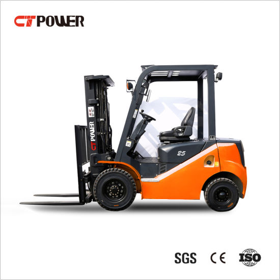 Diesel/Petrol/Gas Forklift Truck at 2.0/2.5/3.0/3.5 Ton with Japan Engine