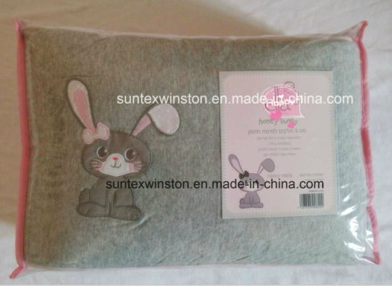 Baby Bumper Set with Blanket Fitted Sheet and Crib Bumper