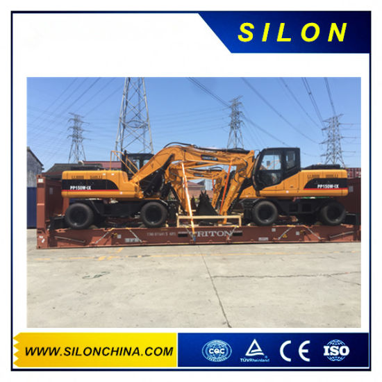 China 15t Mini Crawler Excavator with Cummins Engine pictures & photos
