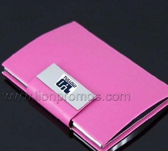 China tullow logo lady business gift pink leather namecard box tullow logo lady business gift pink leather namecard box reheart Image collections