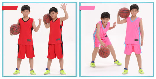 fd957f0a7a5 Spot Supply Print Dry Fit Basketball Jersey for Kids pictures & photos