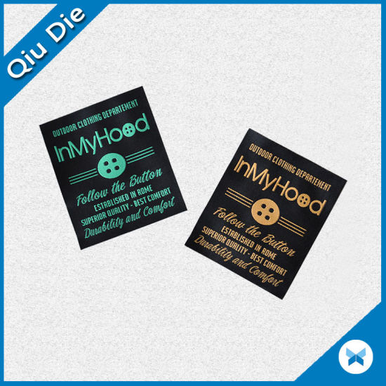 Superior Quality Woven Label for Outdoor Clothing Accessories pictures & photos