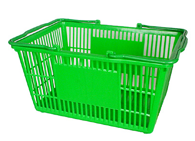 Supermarket Plastic Basket pictures & photos