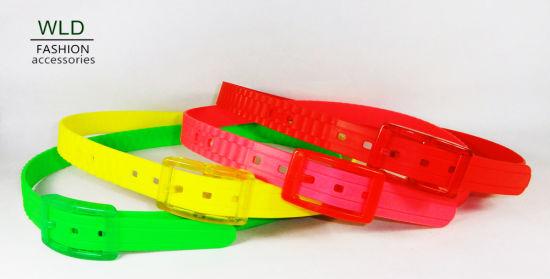 Neon Color Plastic Fashion Belt (KY3947)