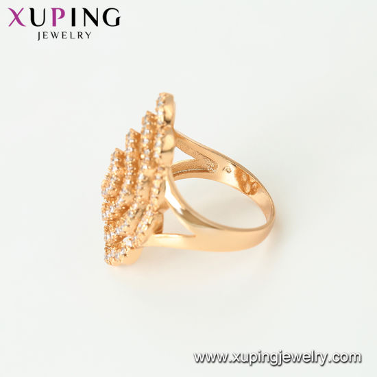 12461 Top Quality Xuping Fashion Colorful Crystal Apple Shapeped Jewelry Ring pictures & photos