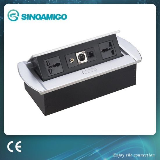 Morden Office Multifunctional Outlets Assembly/Office Connection Panel Box (STS-218)