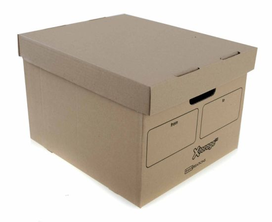 Custom Corrugated Packaging Box for File Packing pictures & photos