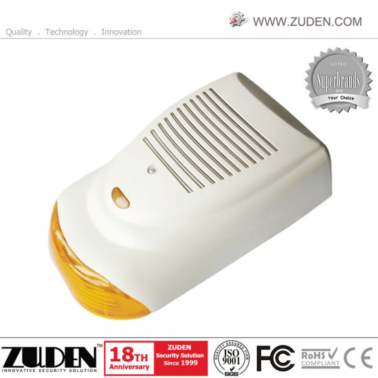 Wired Flash Siren Alarm Siren with 110dB, 12VDC pictures & photos