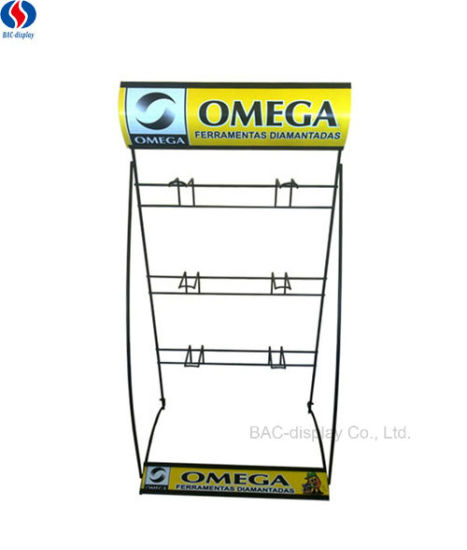 China Customized Logo Metal Wire Assemble Stand Tools Exhibition ...