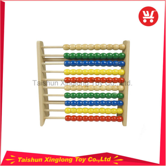Preschool Kids Wooden Toys Wooden Small Abacus Toys Educational Wooden Toys pictures & photos