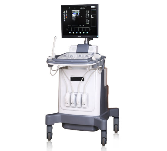 Trolley Color Doppler Ultrasound Diagnostic Equipment pictures & photos