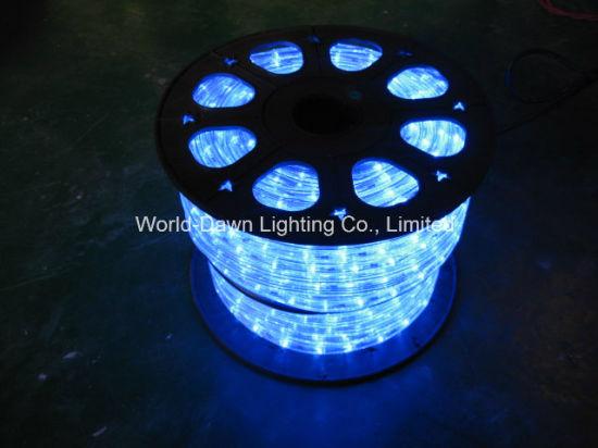 China Purple 4 Wire Flat LED Rope Light - China Rope Light, LED ...