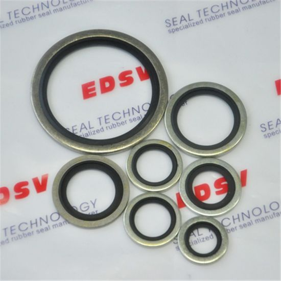 NBR FKM Viton Rubber to Metal Dowty/Usit-Ring Bonded Seals pictures & photos