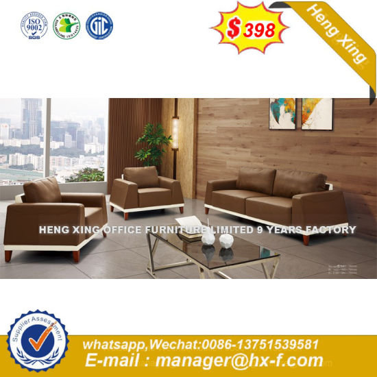 Factory Price Classic Design Leather Combination Office Sofa (HX-8N2133) pictures & photos