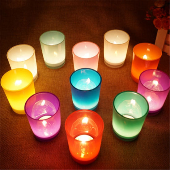 100% Natural Soy Wax of Glass Jar Candle