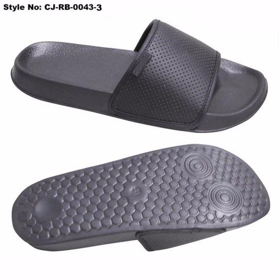 New PU Upper Design EVA Outsole Slide Sandal