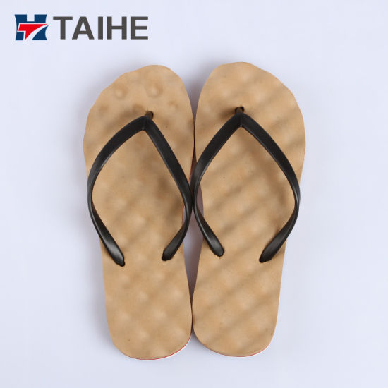 76694a949c2ccd China 2018 Hot Debossed Fashion Soft Massage Flip Flops Women ...