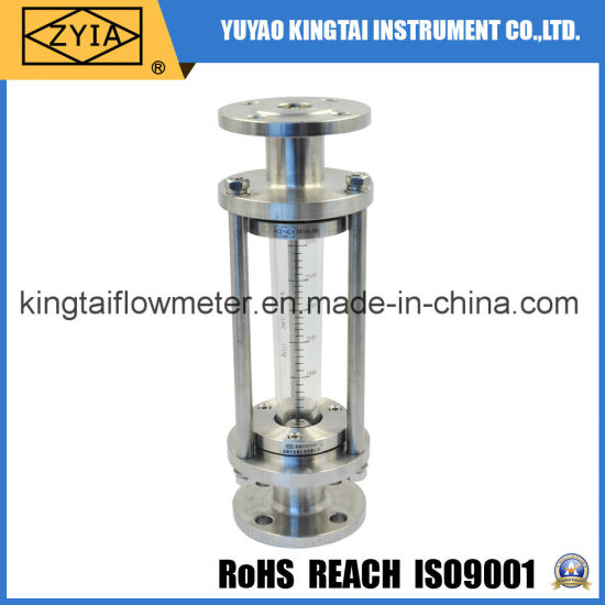 Hot Sell Inline Vertical Type Float Indicator Sight Glass Flow Meter