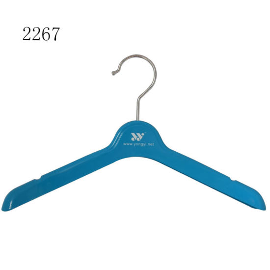 High Quality Rubber Baby Top Clothes Display Hangers pictures & photos
