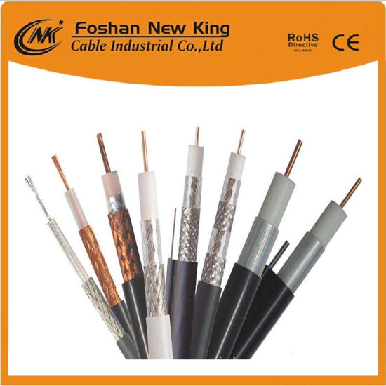 China Telecommunication RG6 Coaxial Cable Connect TV/CATV/VCR ...