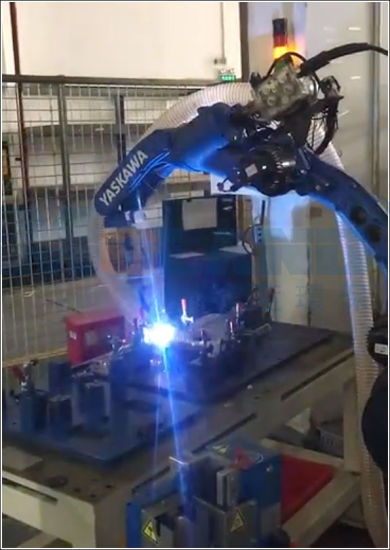 High Negative Pressure Smoke Purifier Used in Robot Automatic Welding