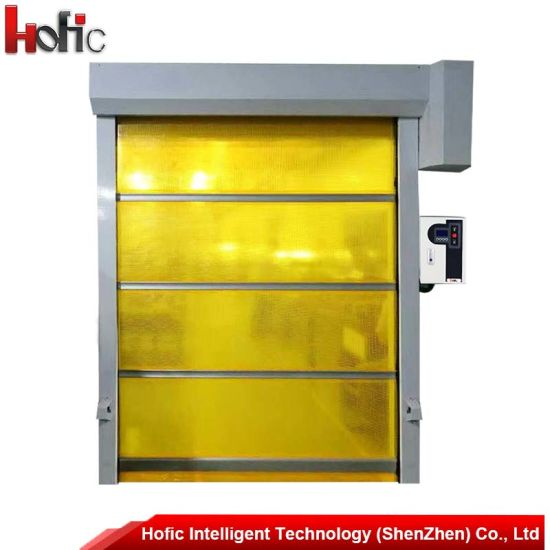 Industrial Motorized High Speed Roller Shutter Door