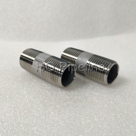 China Nipples Stainless Steel/Carbon Steel ASTM A733/BS/DIN Pipe Nipples pictures & photos