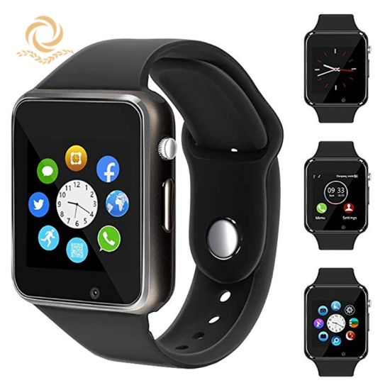 A1 Bluetooth SIM Card TF SD Card GSM Phone Smart Watch with Camera Dial Call Sleep Monitoring