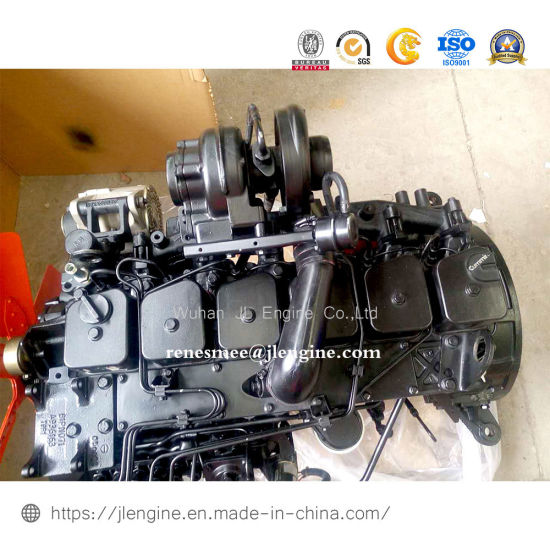 6btaa5.9-C175 175HP 128kw Complete Diesel Engine 5.9L for Construction Machinery