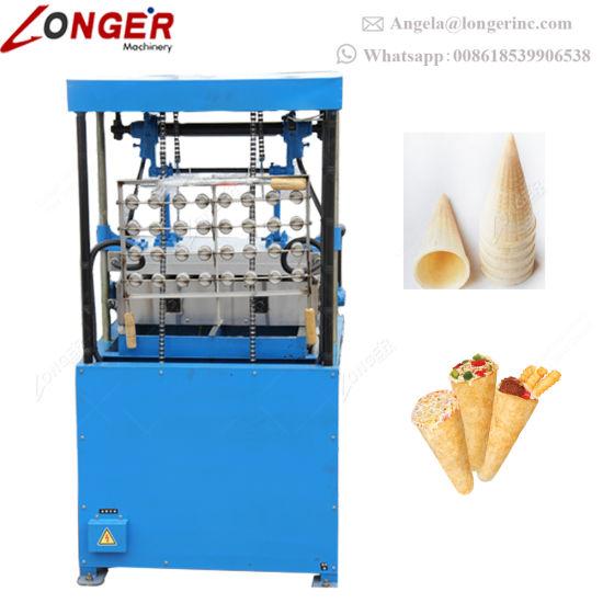 China semi automatic ice cream wafer cone maker pizza cone making semi automatic ice cream wafer cone maker pizza cone making machine ccuart Gallery