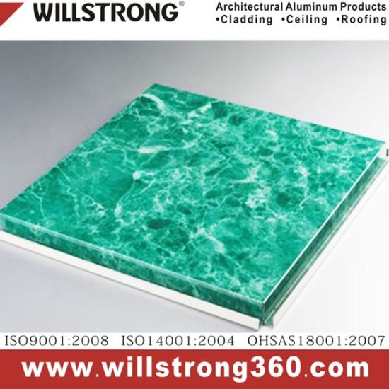 Super Thin Aluminium Honeycomb Panels in Fireproof A2 Ahp for Exterior Wall Cladding pictures & photos