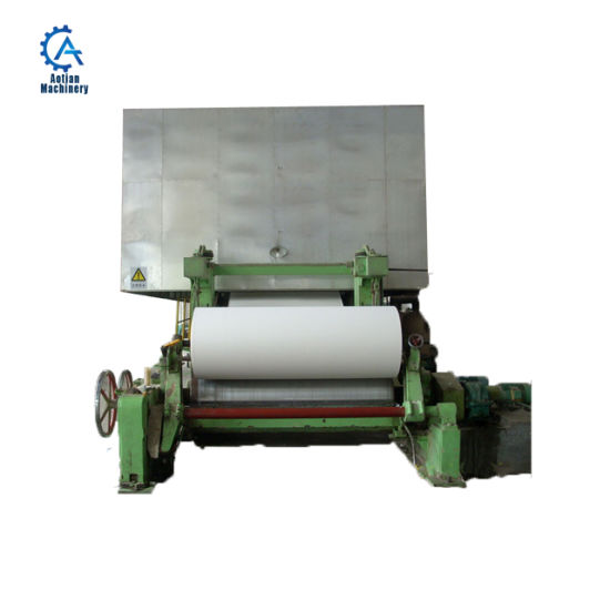 Notebook Paper Production Line A4 Paper Making Machine
