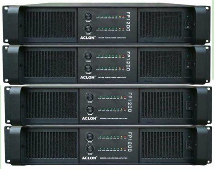 Aclon Hot Sale 2-Channel 4000W Power Amplifiers (FP1200) pictures & photos