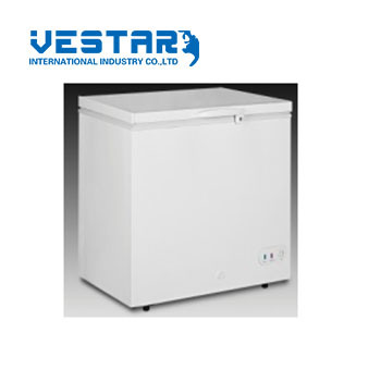 Wholesale Chest Freezer Refrigerator with Stainless Steel Doors pictures & photos