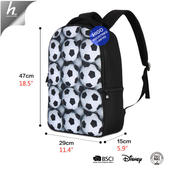 bf121cf7d659 Personalized 3D Printed Large School Backpack Polyester for Teen Girls
