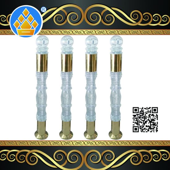 Modern Wholesale Clear Acrylic Bubble Baluster Balustrade for Stairs pictures & photos