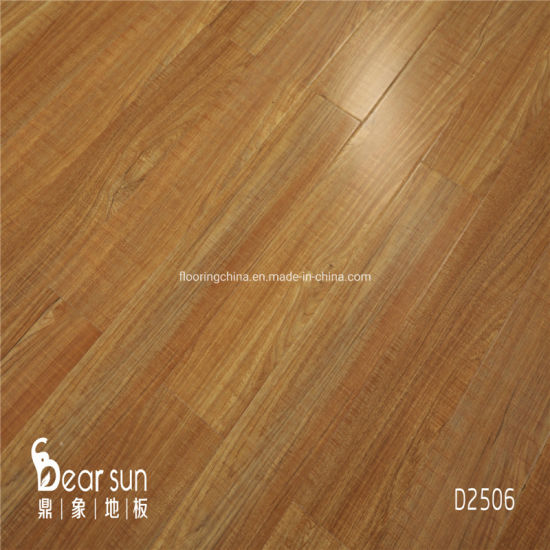 Eco Friendly Smooth Surface Hardwood, Smooth Laminate Flooring