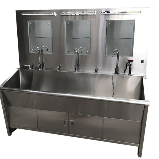 High Quality Full Stainless Steel Three Washing Sink pictures & photos