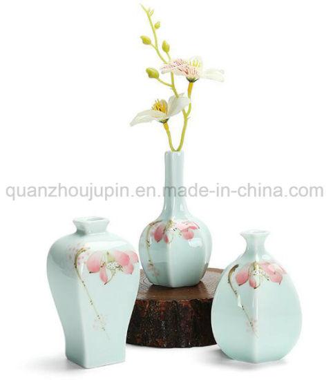 China Oem Decorative Creative Glazed Porcelain Ceramic Flower Vase