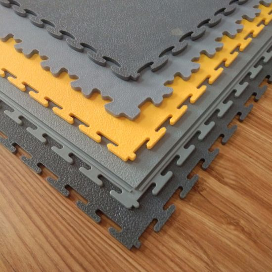 Esd Pvc Floor Mat Tile Used For House Work Garage