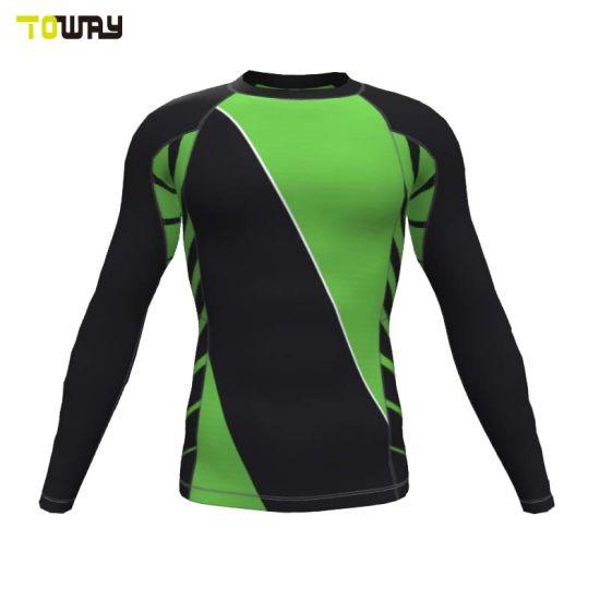 6919c511 China Custom Dri Fit Long Sleeve Men Compression Shirts - China Rash ...