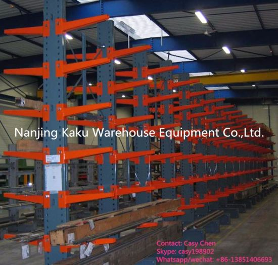 Warehouse Heavy Duty Industrial Steel Metal Cantilever Shelf pictures & photos