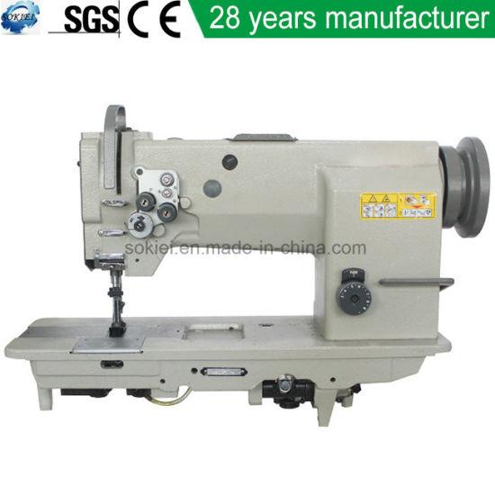 China 4040 SingleDouble Needle Unison Feed Lockstitch Sewing Simple Feed Bag Sewing Machine