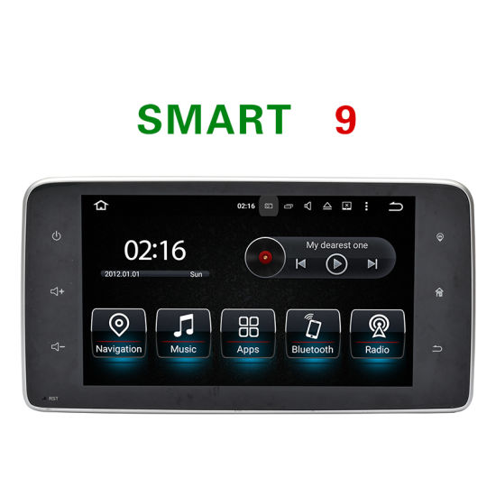 "9""Carplay Android 7.1 Car DVD GPS for Smart 2015 Car Radio with 3G Connection pictures & photos"