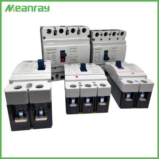750V Three Pole 250A Solar Energy Moulded Case Circuit Breaker MCCB