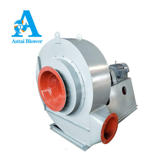 High Pressure Industrial Centrifugal Exhaust Fan Blower/Backward Curved Ventilator for Furnace or Forge or Kiln