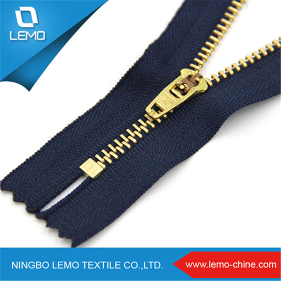 Good Quality 4yg Brass Zipper Close End 4-20cm
