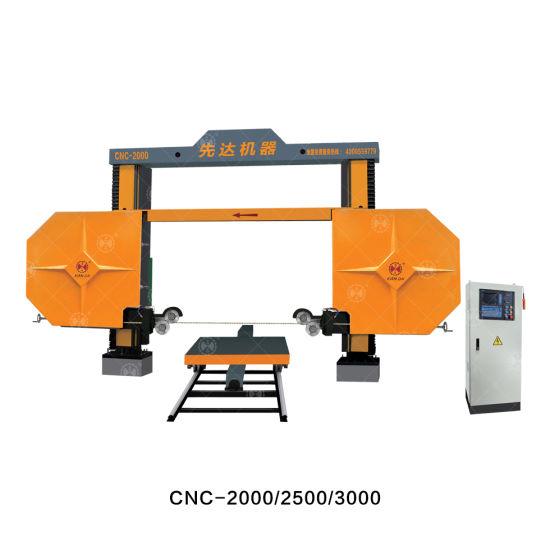 Diamond Wire Saw Machine for Squaring/Trimming Block